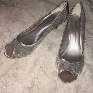 Adrianna Papell boutique silver heels